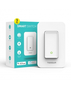 3 Way Smart Switch, TESSAN WiFi Light Switch Work with Alexa and Google Assistant