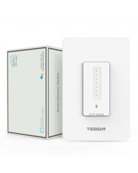 Smart Dimmer Switch, TESSAN WiFi Dimmable Switch for Led Lights
